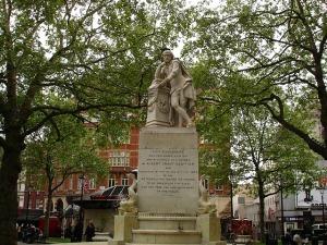 albert grant statue leicester square