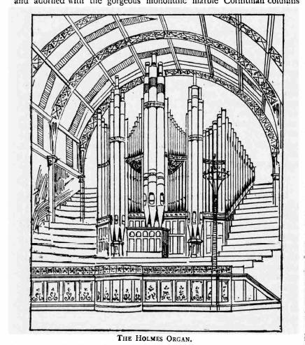 holmes organ
