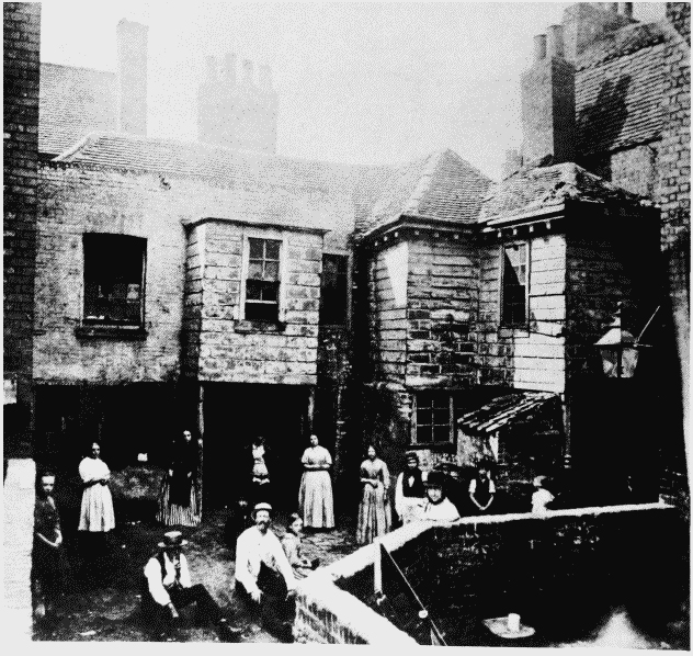 Gardener's Court circa 1865